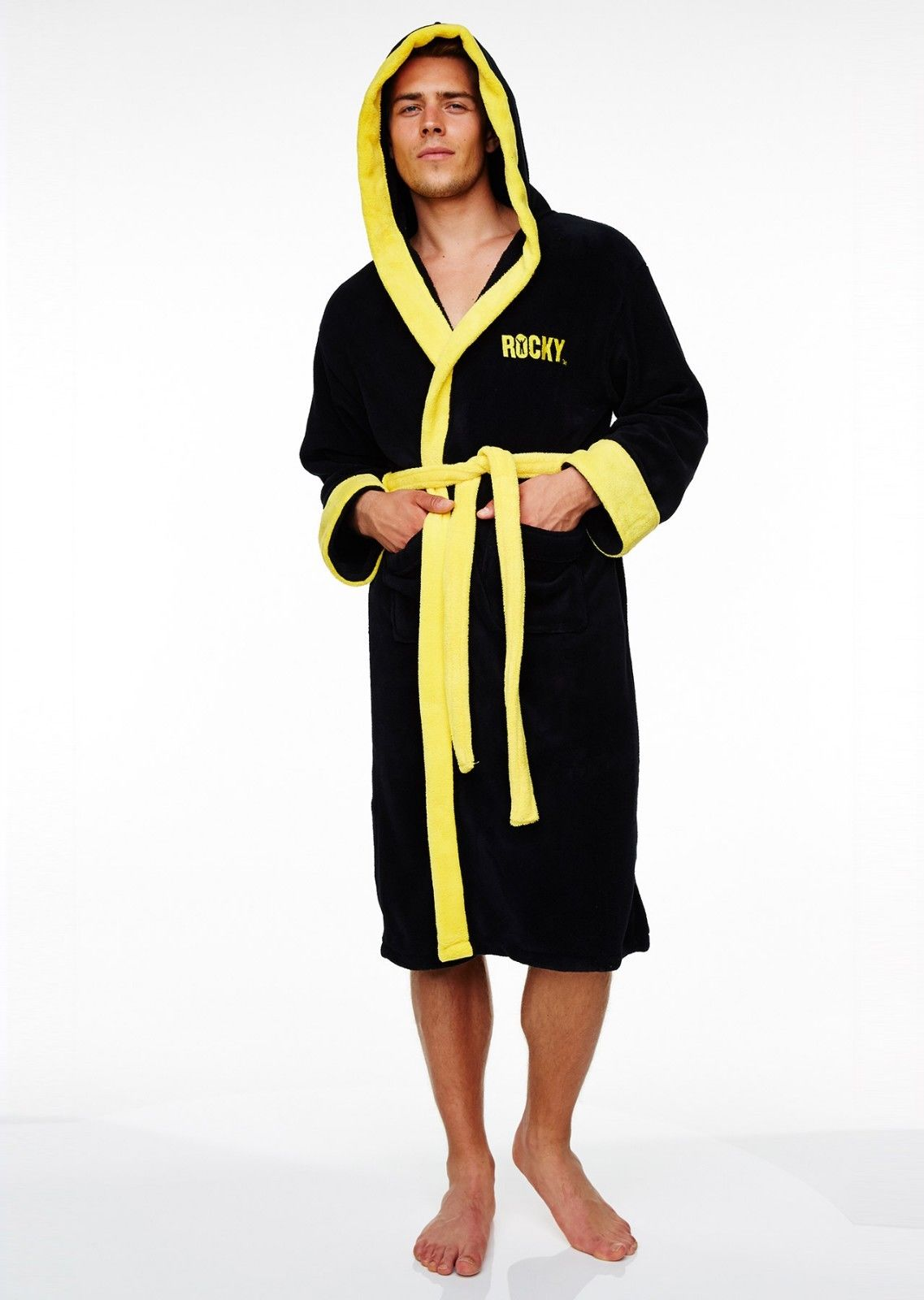 Rocky Italian Stallion Balboa Boxer Dressing Gown Mens Adult ...