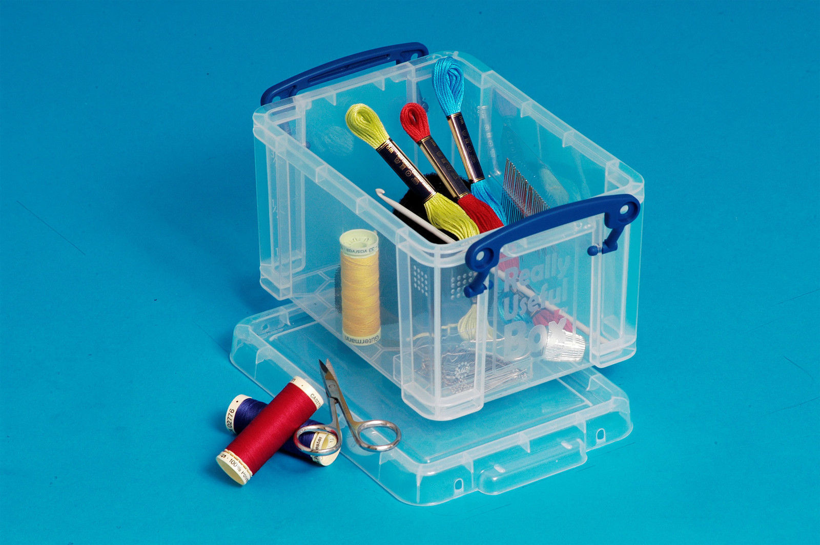 Sizes 0.14L – 3L Really Useful Box Lidded Storage Boxes Clear – Pack ...